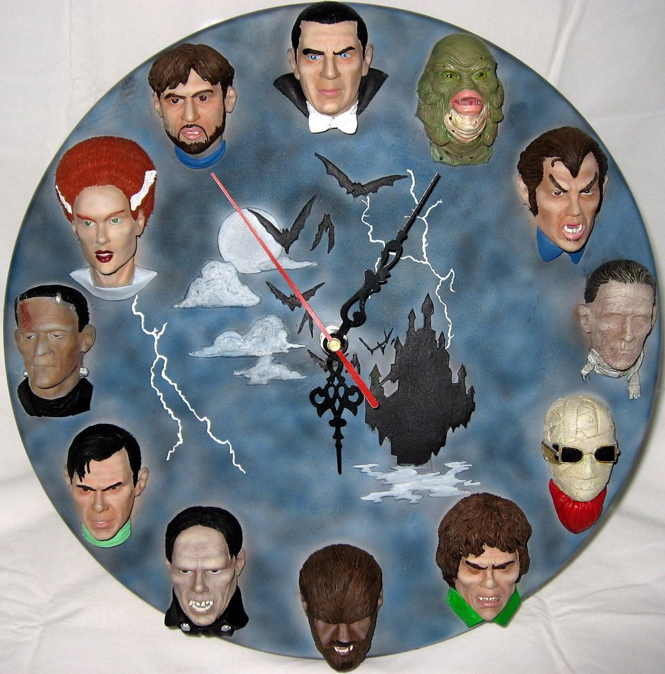 Universal Monsters Wall Clock Kit : What is on my Mind