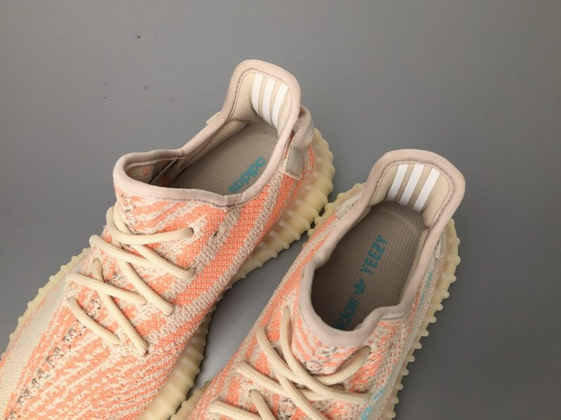 Adidas Yeezy Boost 350 V2 Chalk Coral Real Boost B37574 for Sale 09 ... c60ffdfc4ae5