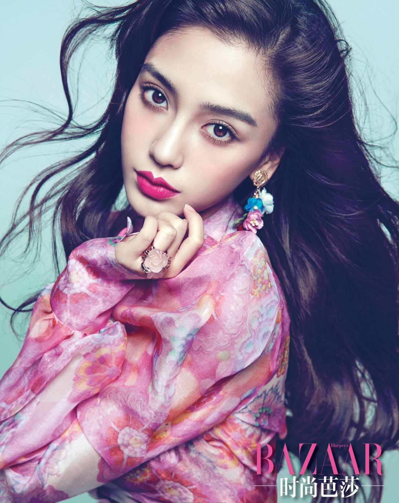 Angelababy Naked pin on style icon