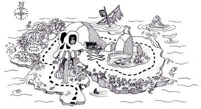 Tutorial para hacer invitaciones de mapa del tesoro