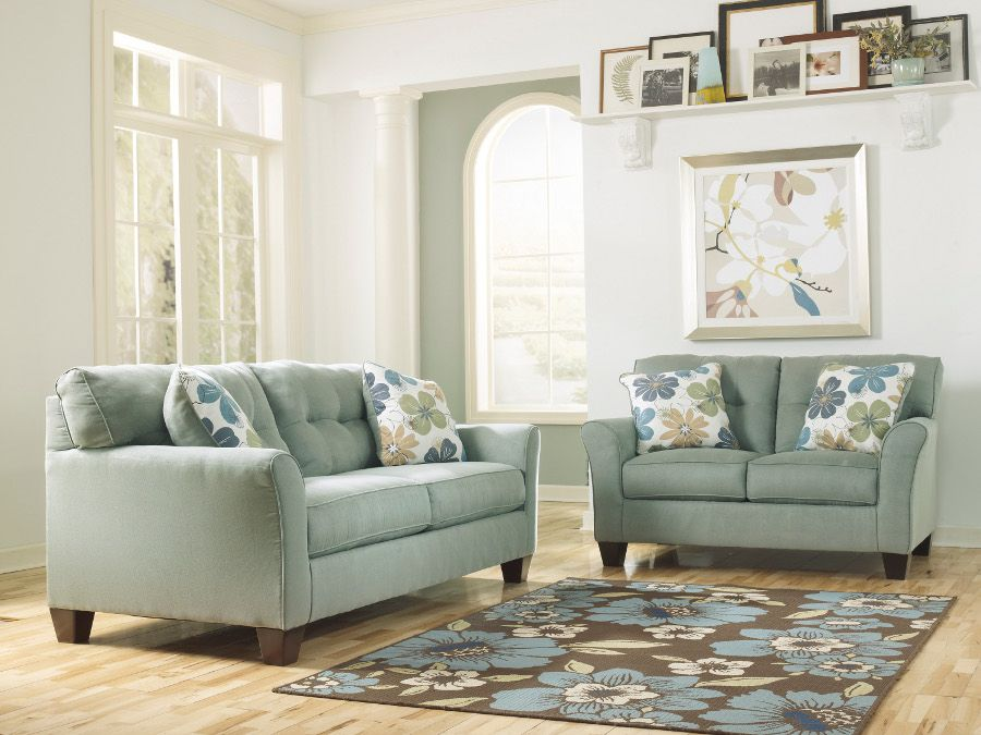 Signature Design By Ashley Kylee Lagoon Stationary Living Room Group 66400 1