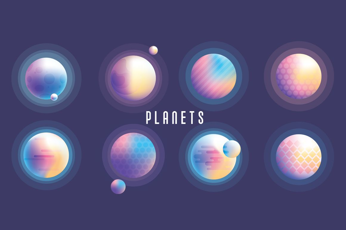 Vibrant Universe Creator Create Your Own Space Adventure Polar Vectors Universe Isometric Design Raster Image