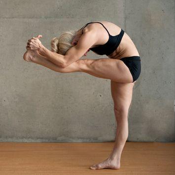 standing head to knee pose  bikram yoga poses ashtanga