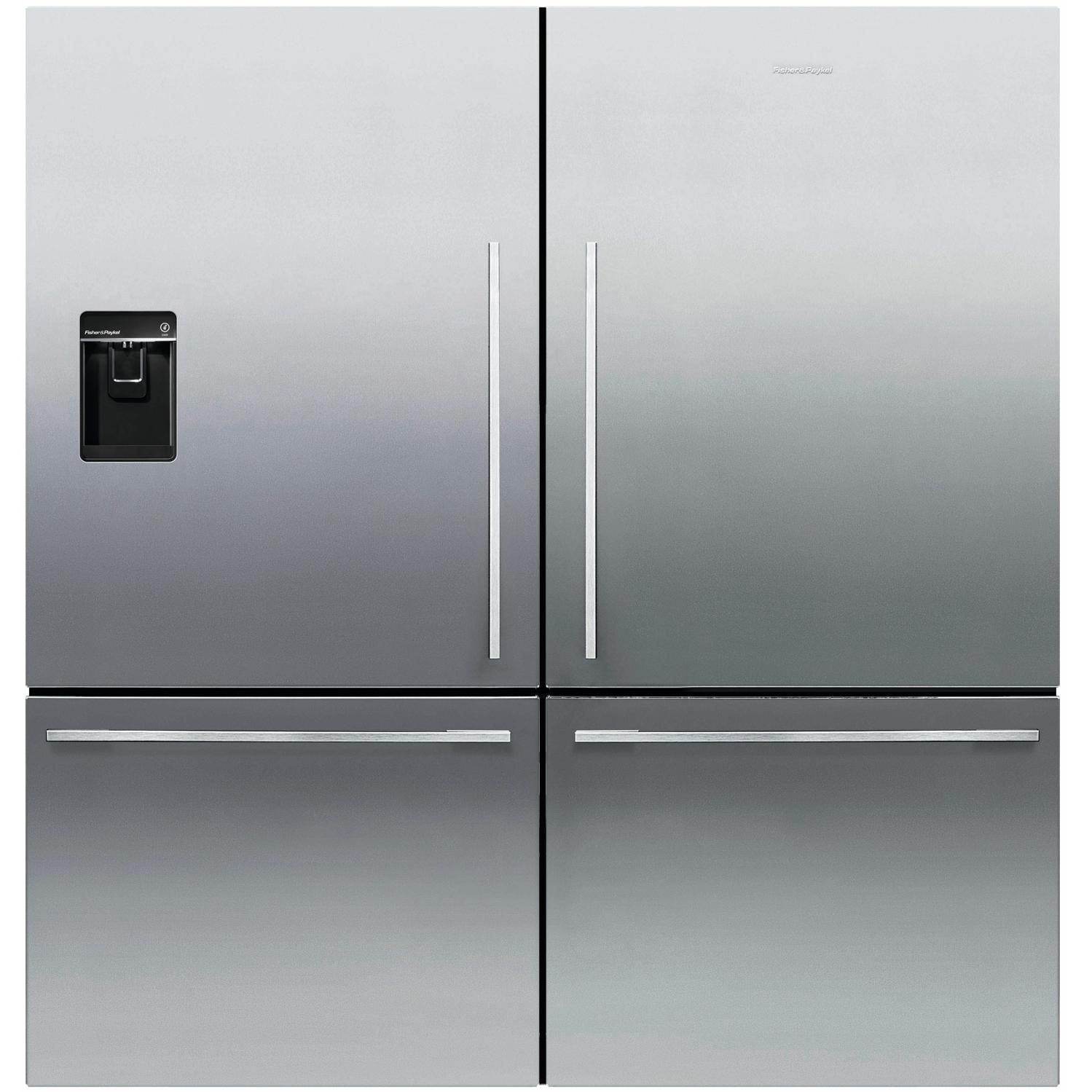 Fisher Paykel 64 Inch Wide Dual Bottom Freezer Counter Depth