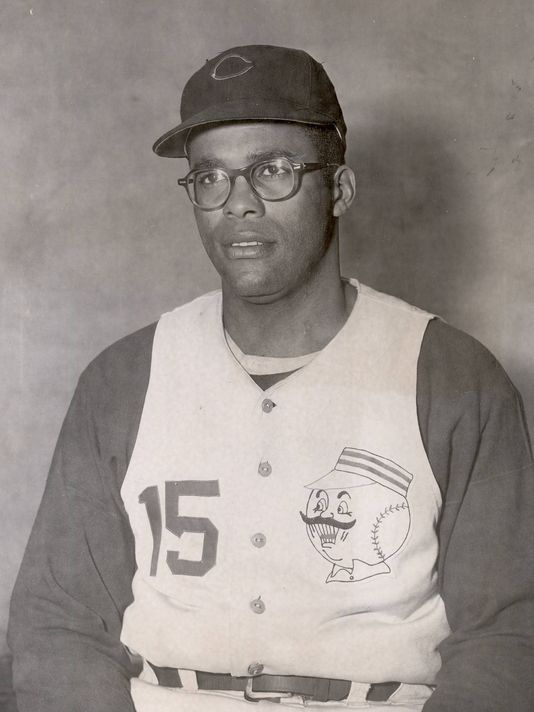 Day 20: George Crowe, 1958 Reds' All-Star. Photo: The Reds' George Crowe in 1958. Enquirer file photo