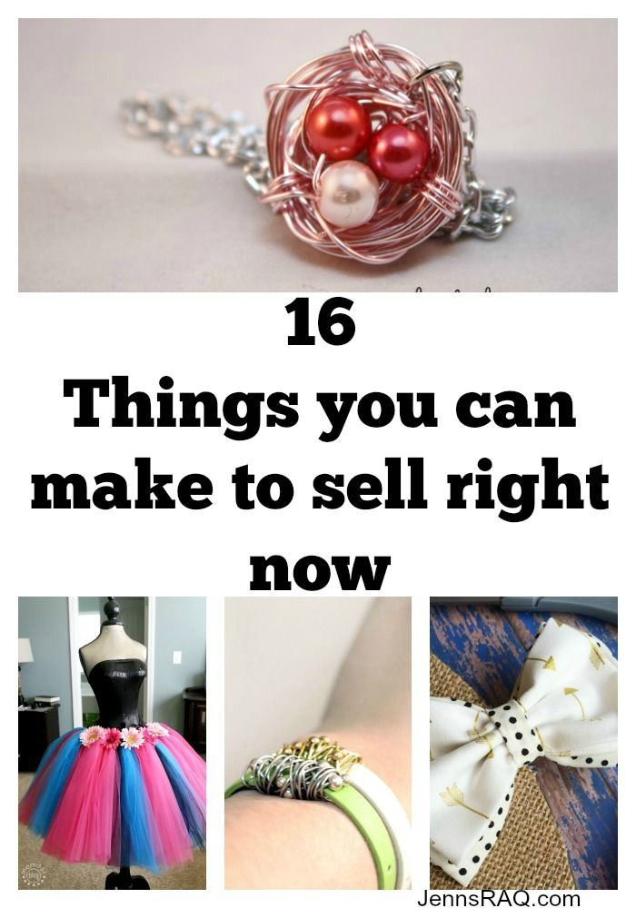 16 Things You Can Make To Sell Right Now Money Making Crafts