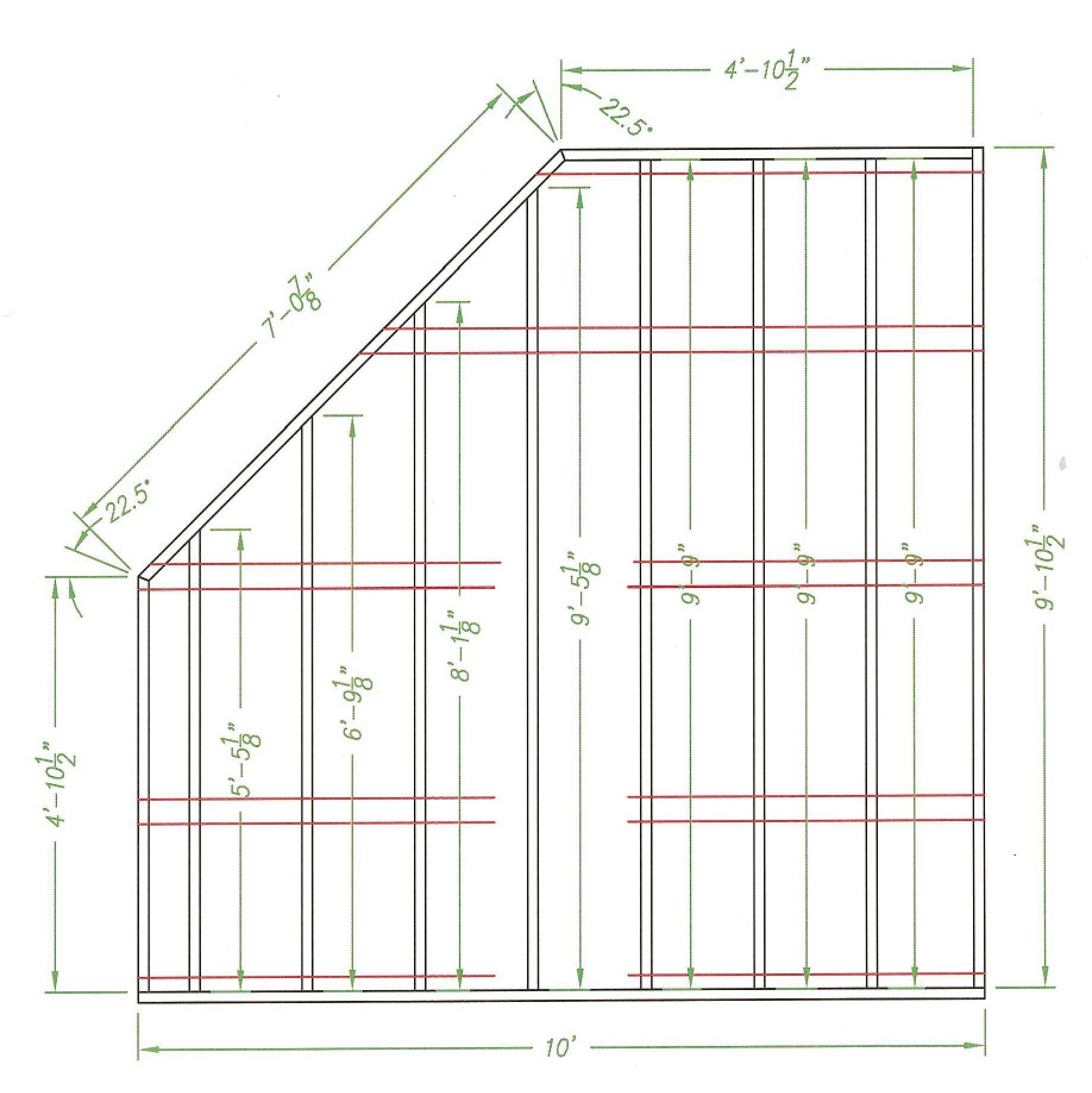 Amish Wood Colonial Five Corner Shed Corner Sheds Diy Storage Shed Plans Shed Building Plans