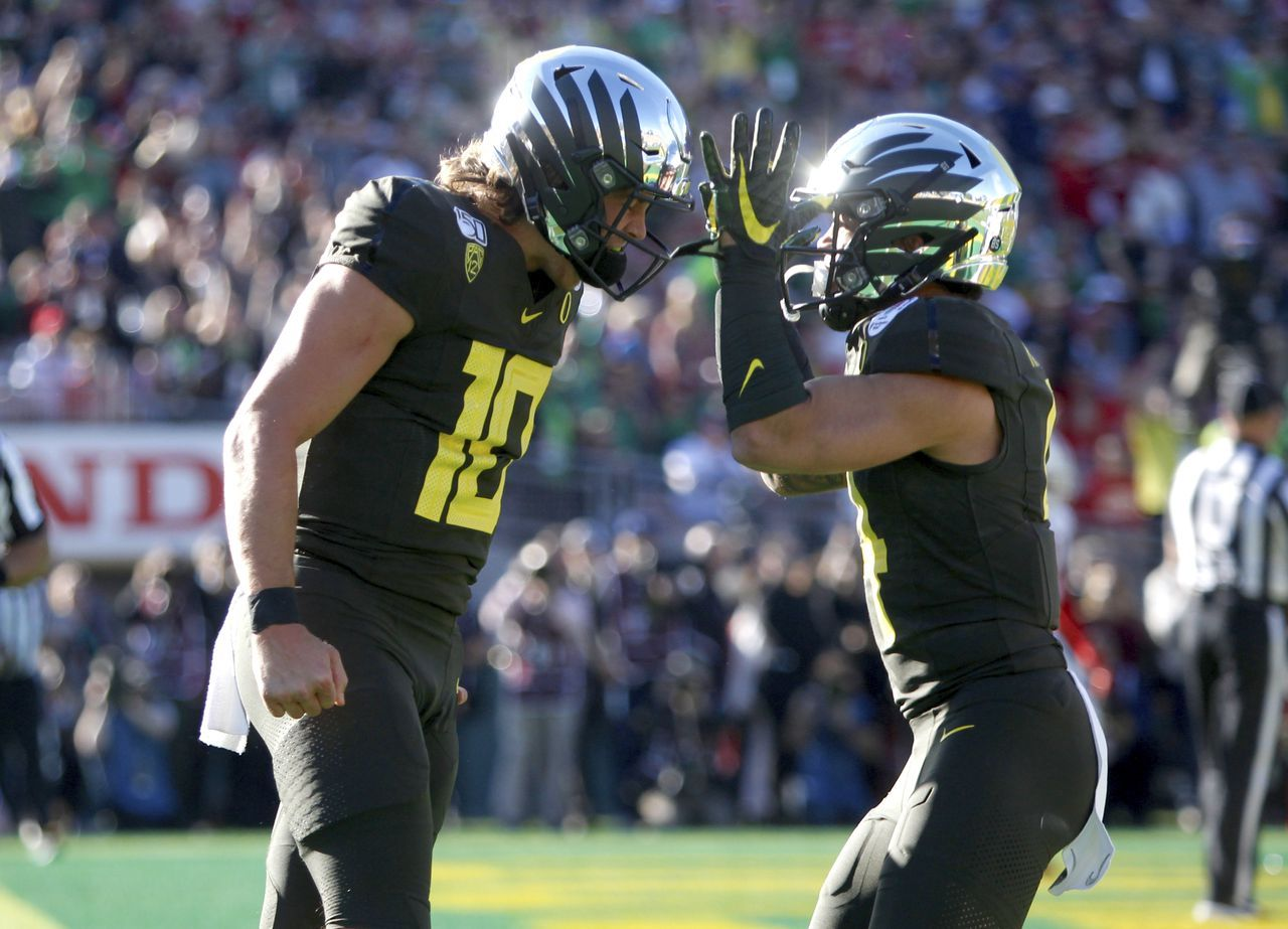 Canzano Oregon Ducks Football Secret Sauce Steals The Stage At