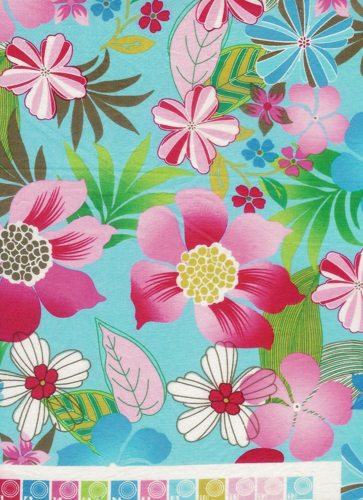 Pink and turquoise hawaiian flowers bedding surferbedding pink and turquoise hawaiian flowers bedding surferbedding hawaiian and surfer inspired izmirmasajfo Images