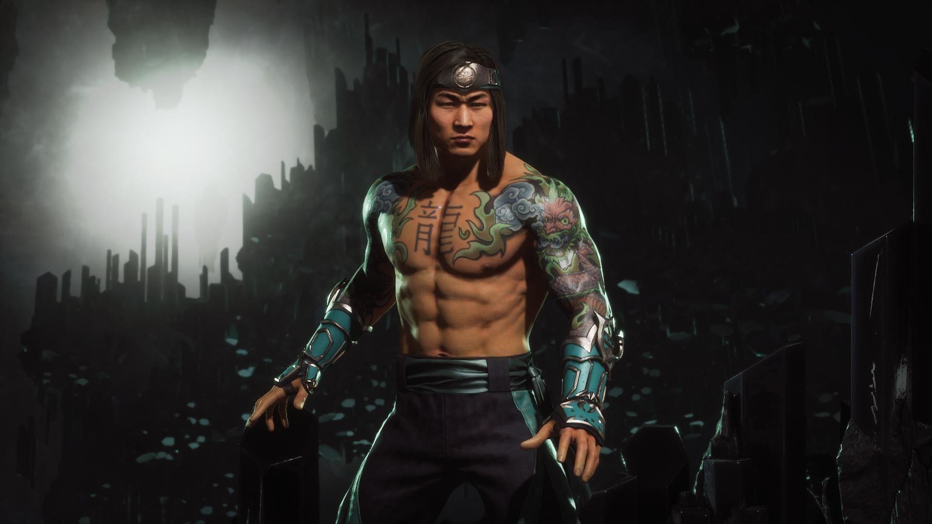 Badass Liu Kang Mortal Kombat Characters Mortal Kombat Liu Kang