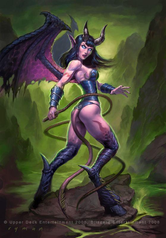 Warcraft - Succubus by ~namesjames on deviantART