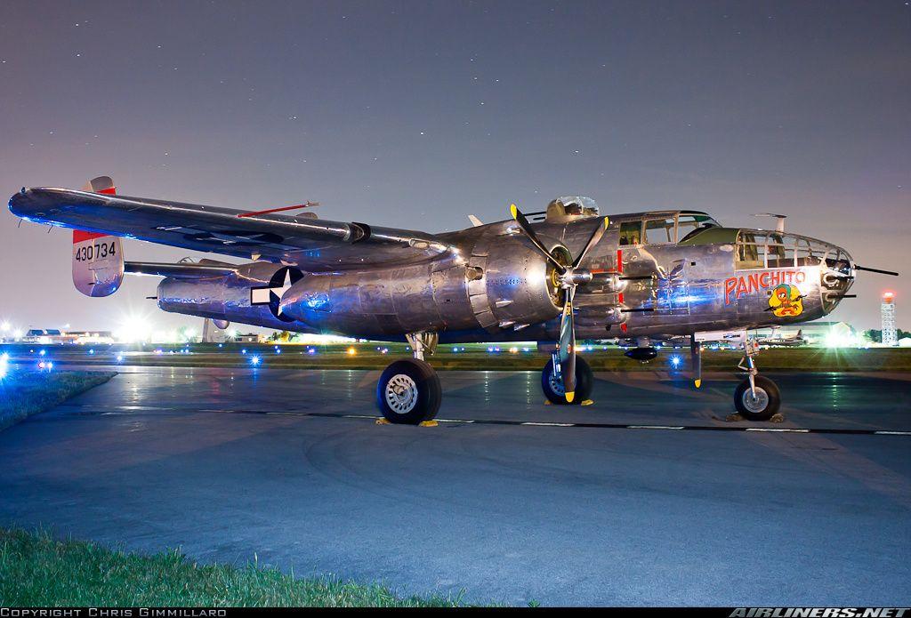 North American B-25J Mitchell #aviation #classic #military #ww2 #aircraft
