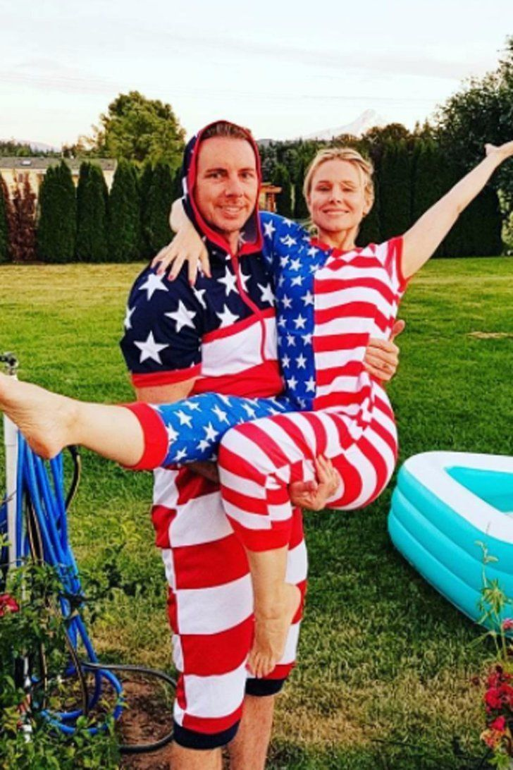 Stars, Stripes, and Skin: Celebrities Went All Out For the Fourth of July #BenAffleck #CamGigandet #Celebrities #CelebrityBabies #CelebrityDads #CelebrityGuys #CelebrityMoms