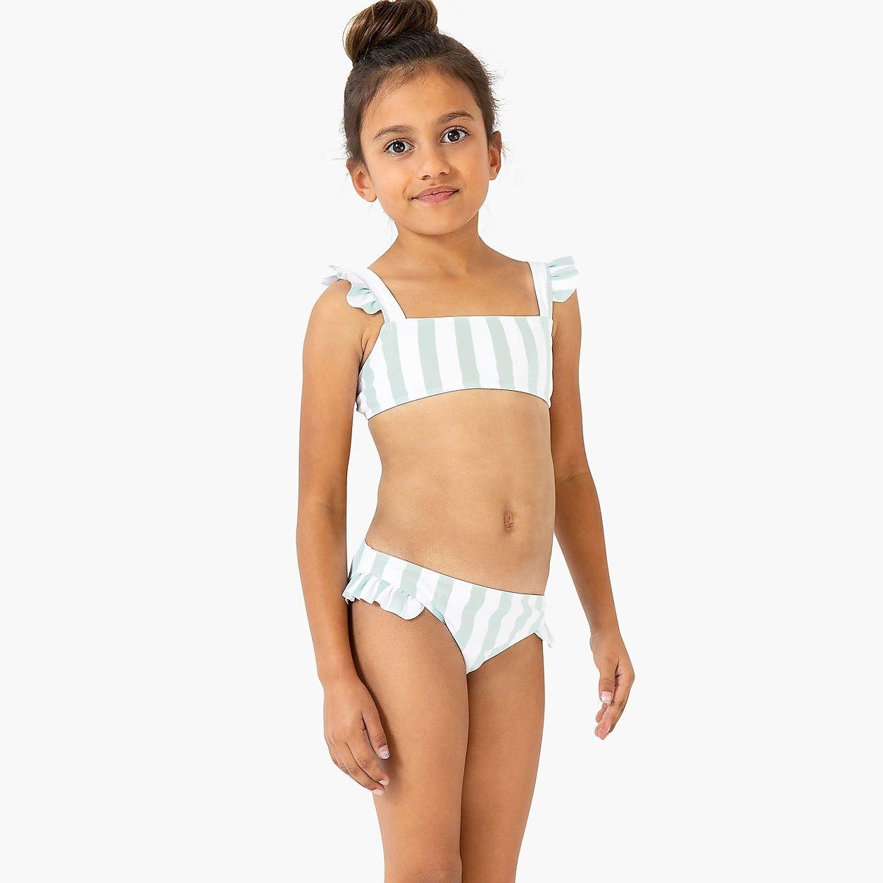 efbf8da13f crewcuts Minnow Tie Back Bikini | Products in 2019 | Bikinis, Kids ...