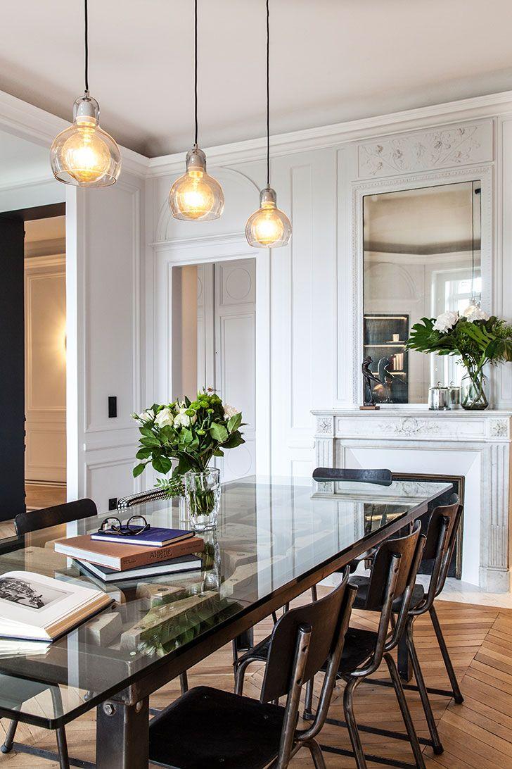 Photo of 〚 Modern elegance: black and white apartment in Paris 〛 ◾ Photos ◾ Ideas ◾ Design