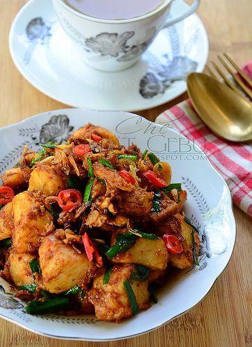 Dapur Tanpa Sempadan Resipi Lontong Goreng Resep Masakan Malaysia Resep Masakan Asia Resep Masakan