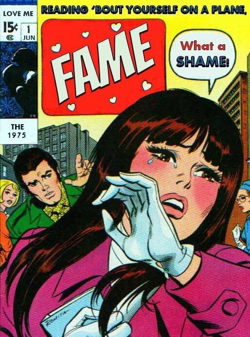 1975-maggie:  the 1975s songs in comics