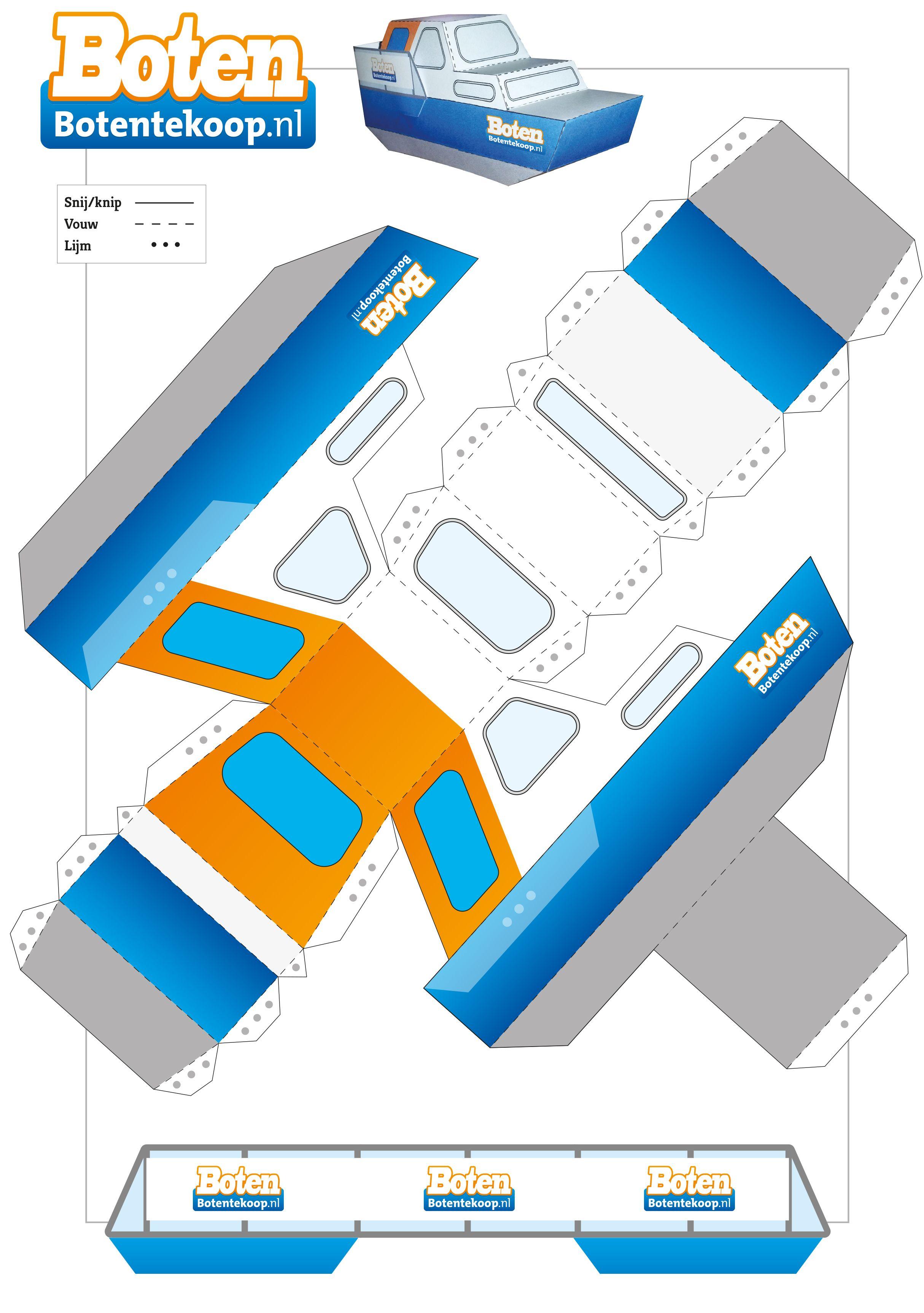 Een Mooie Boot Gemaakt Voor Bohil Media En Het Blad Boten Uitgedeeld Op Beurzen Image Paper Map