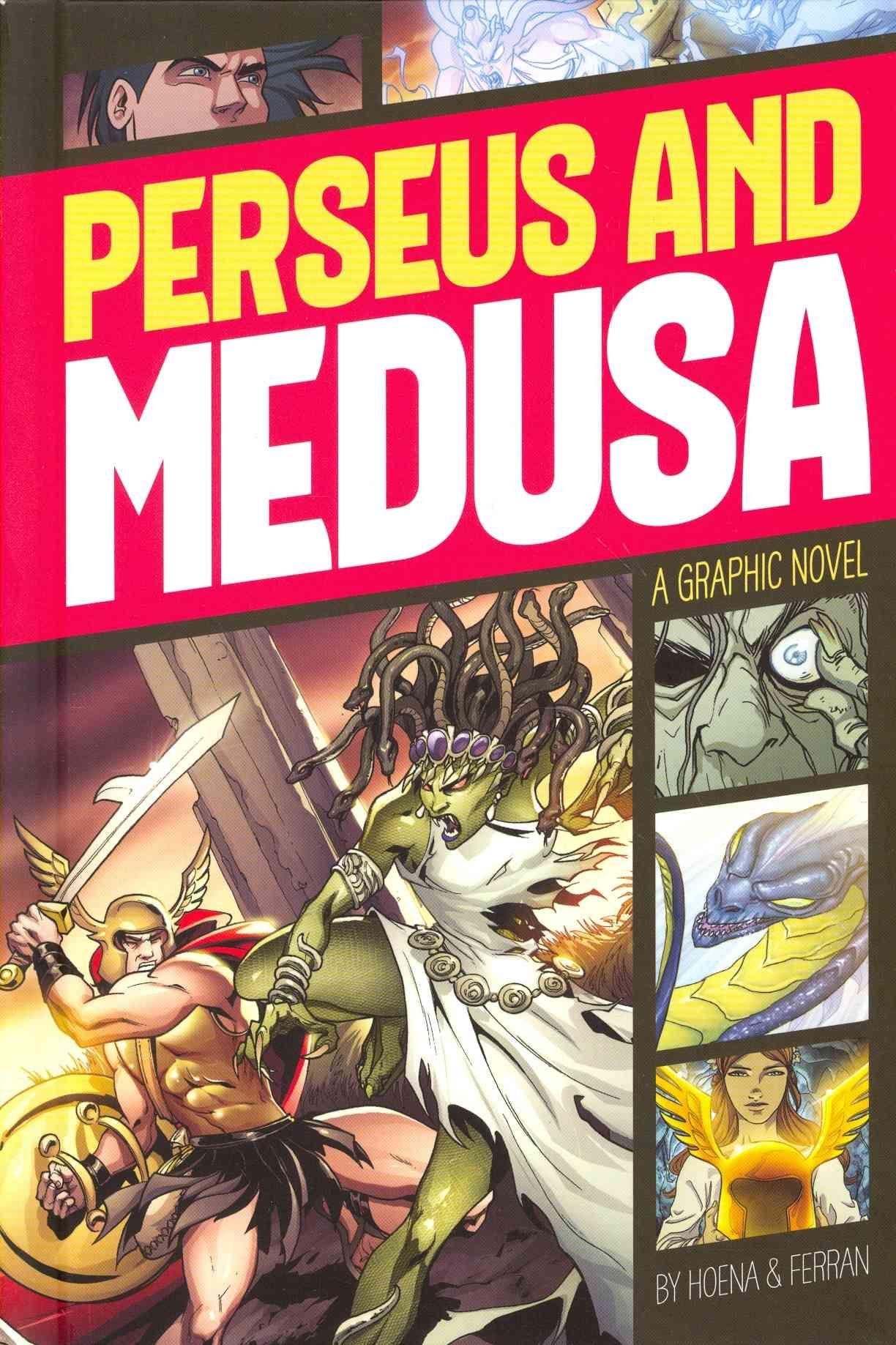 Perseus And Medusa Hardcover
