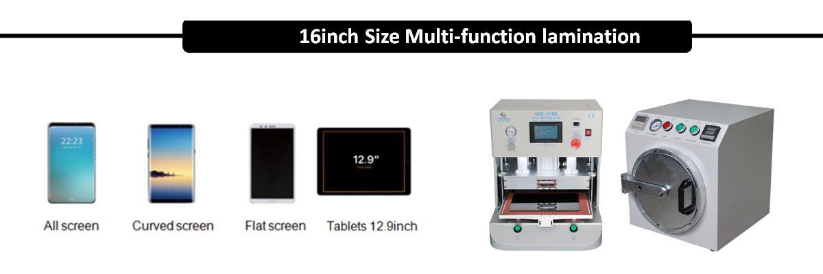 16 Inch Big Size Oca Vacuum Lamination Machine Bubble Remover For Ipad Iphone Samsung Edge Whatsapp 8613787900662 Em Vacuums Power Tool Sets Refurbishing