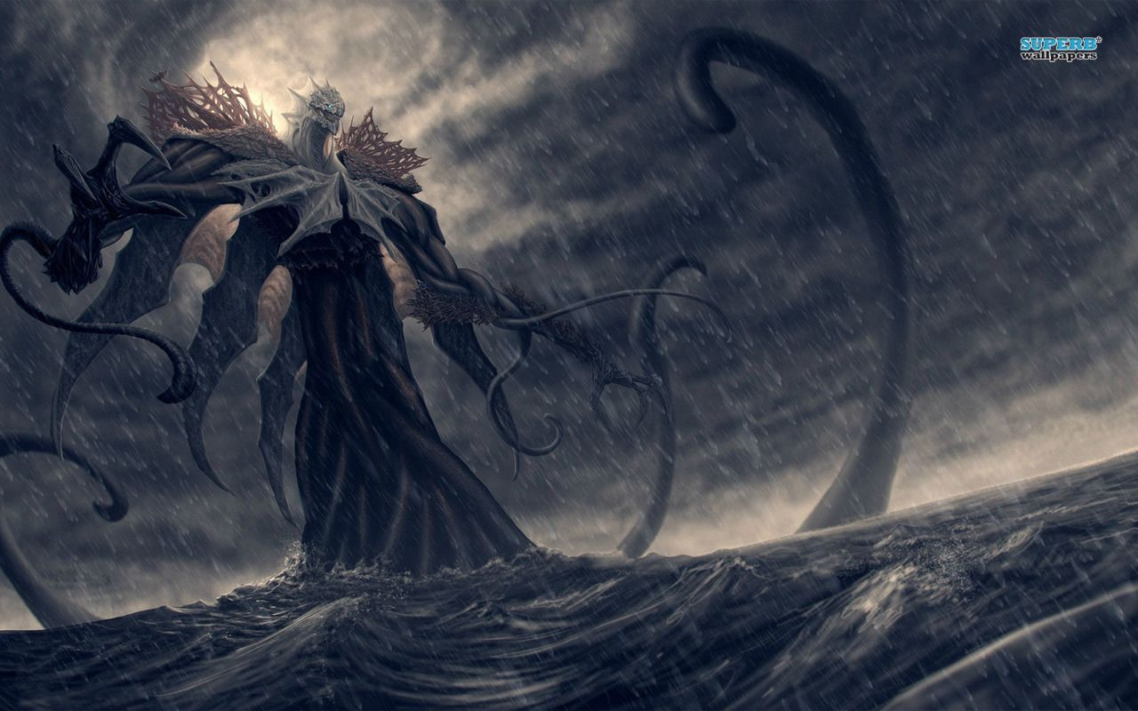 Giant Sea Monsters Art