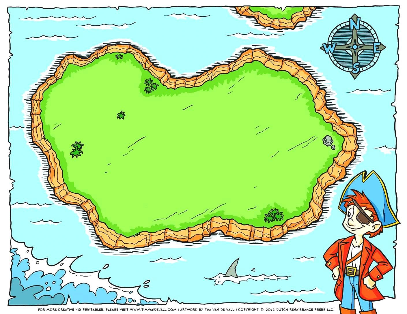 Blank Treasure Map Clip Art Free Pirate Maps For A