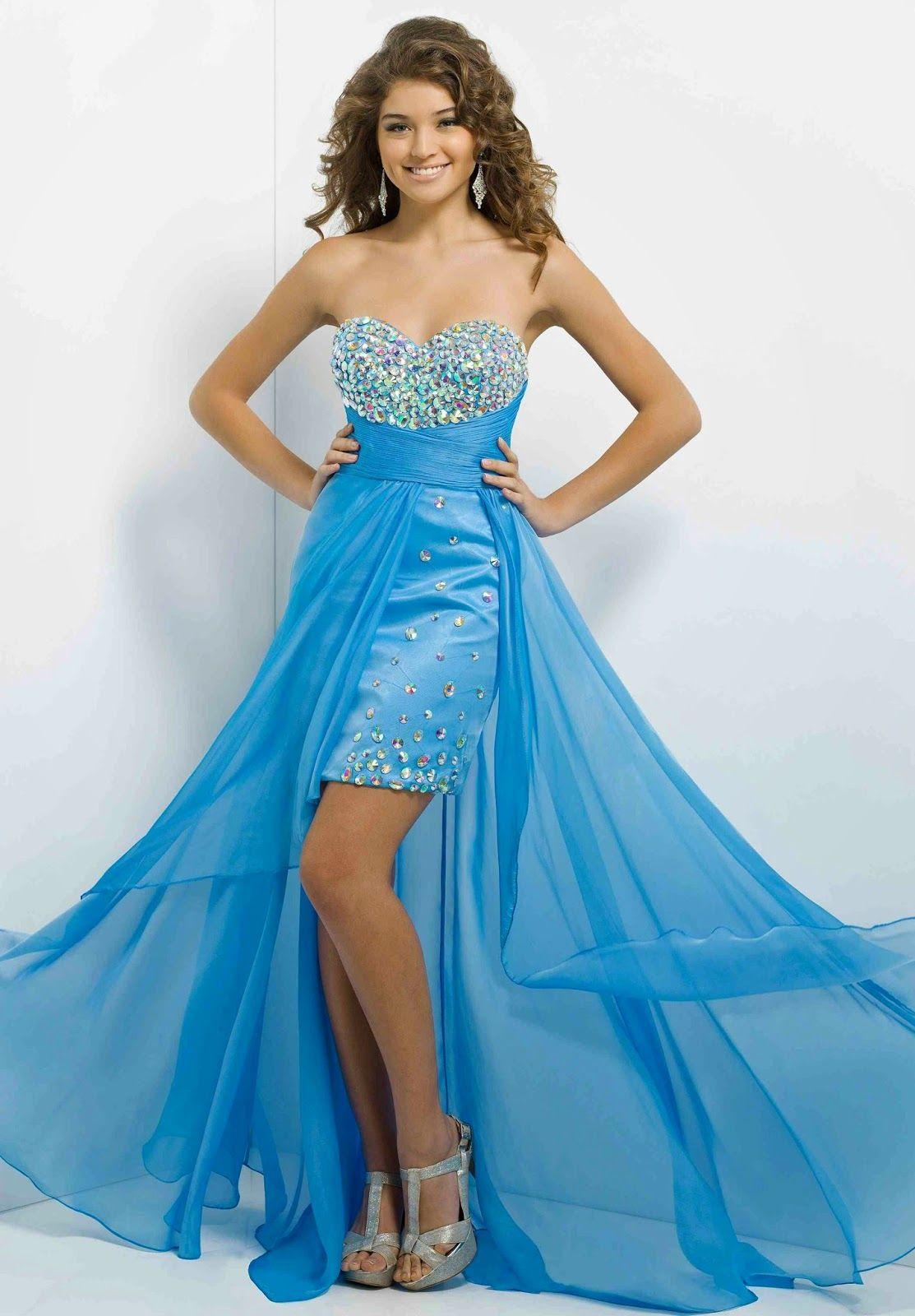 Bonitos vestidos Largos de fiesta para jovencitas | Especial ...