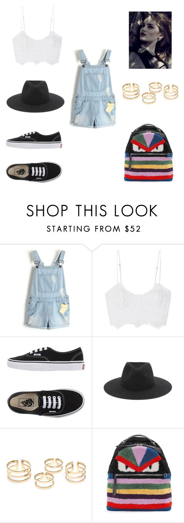 """""""SAY SAY SAY"""" by laura-melissa-cortes on Polyvore featuring Miguelina, Vans, rag & bone and Fendi"""