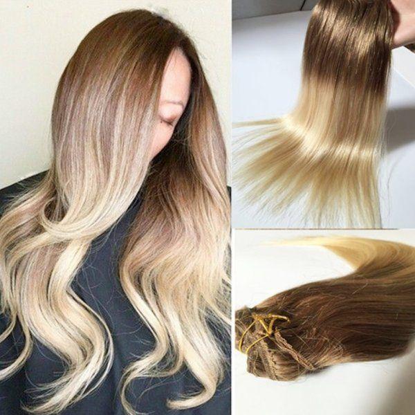 Coada Par Blond Ultra Cenusiu Silvera Esy Hair Frumusețe în