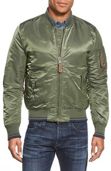 5d91f092a58e Ben Sherman  Alpha X MA-1  Bomber Jacket available at  Nordstrom ...