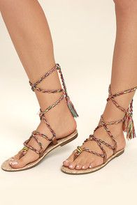 c1a423347 Circus by Sam Edelman Delaney Peach Multi Slide Sandals