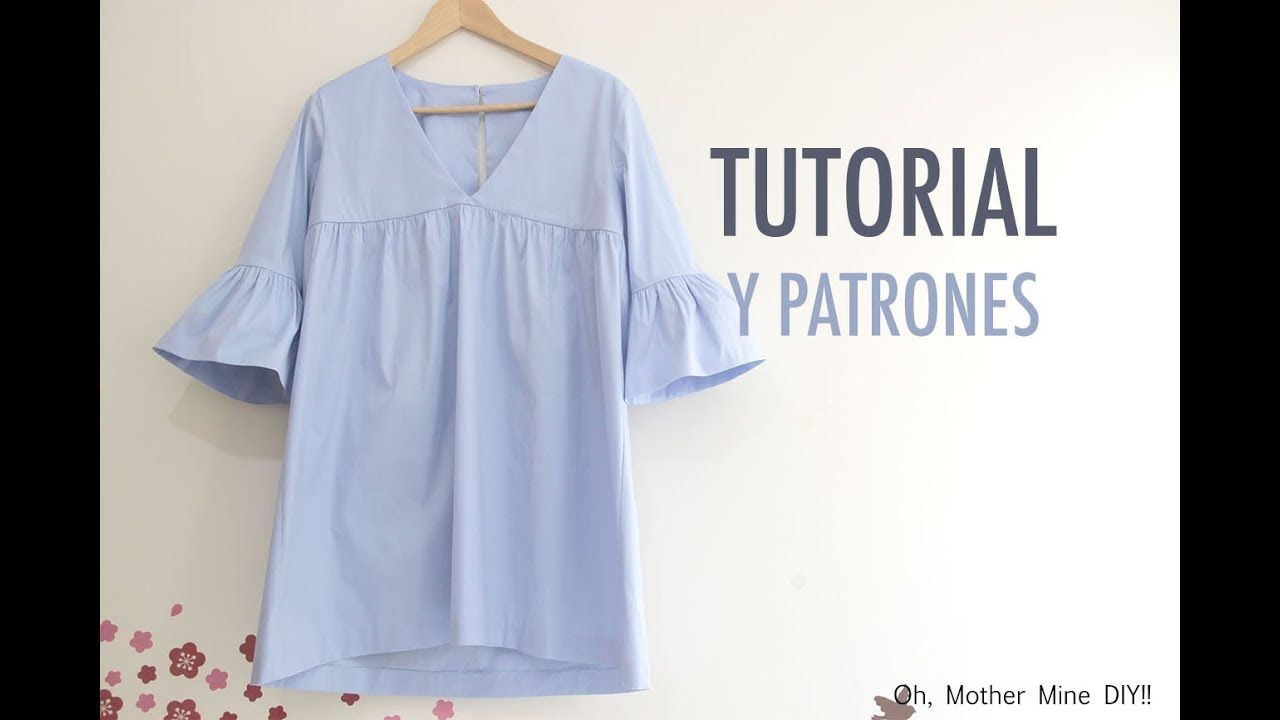 Costura: Vestido para mujer (patrones gratis) | Patterns | Pinterest ...