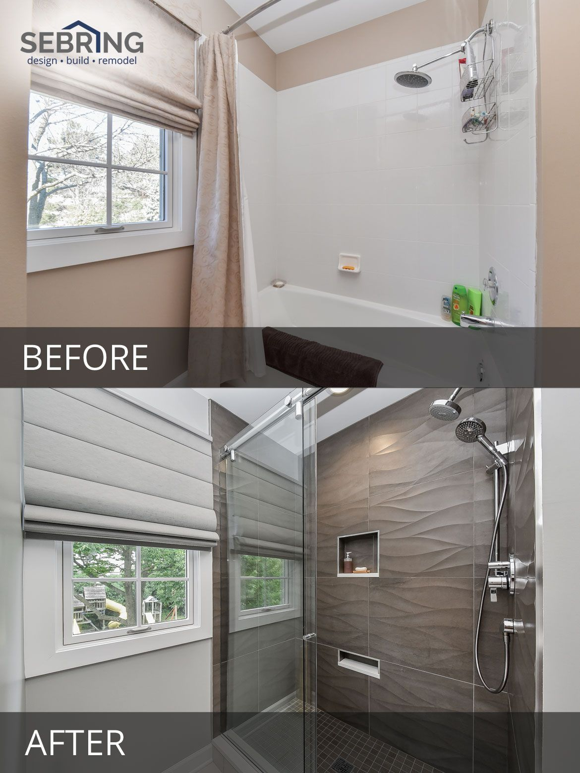 Doug Brendas Master Bathroom Before After Pictures Bathroom - How to remodel a bathroom yourself