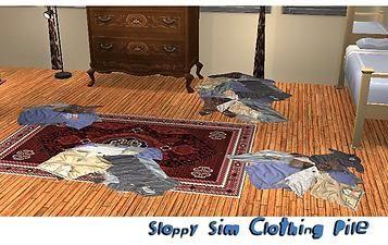 Mod The Sims - Random Pile of Clothing