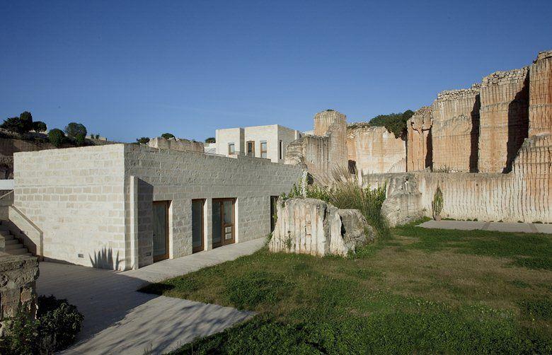 Cave Bianche Hotel, Favignana, 2003 - studio cusenza+salvo