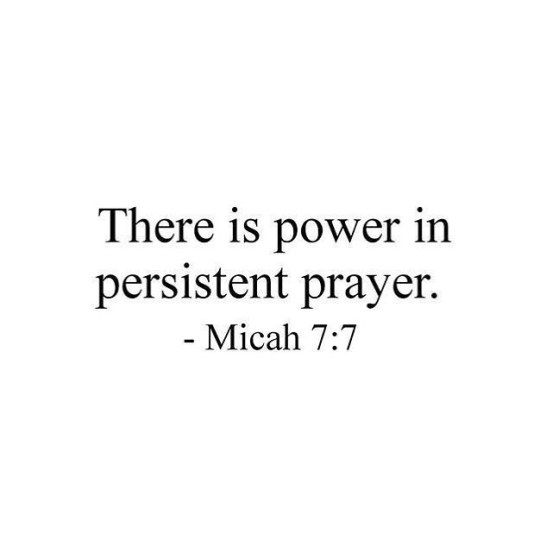 There is power in persistent prayer. 🙏🙏...