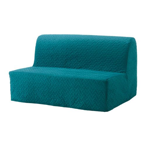 Sofa Bed Covers How To Wash Cushion Lycksele Sleeper Slipcover Vallarum Turquoise In 2019 House Sofabed Ikea The Cover Is Easy Keep Clean As It Removable And Can Be Machine Washed