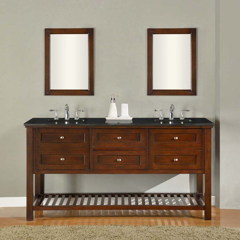 Direct Vanity Sink Mission Spa Collection 70 In Double Bathroom