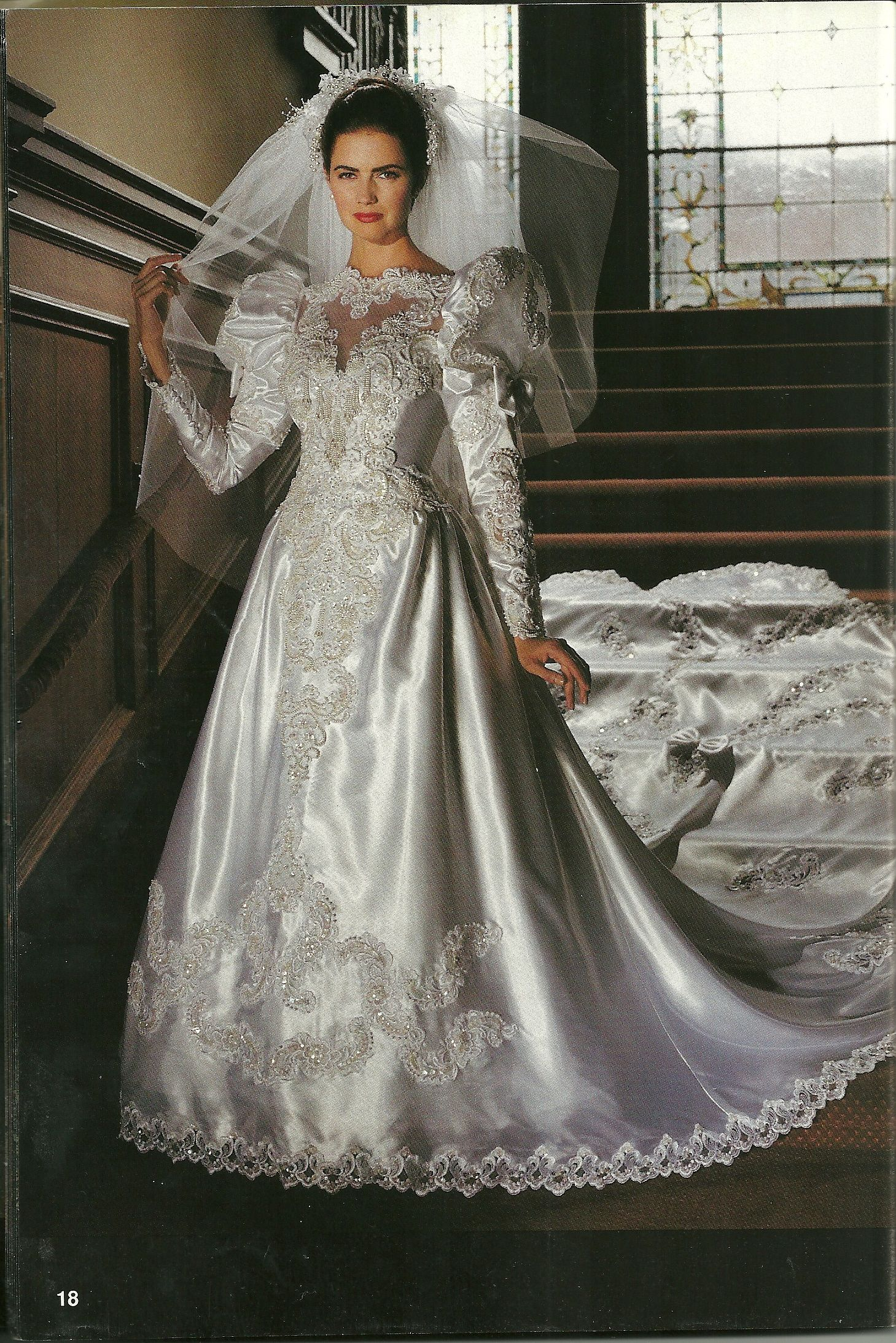 Alfred Angelo Dream Maker Spring Of 1992 Wedding Dresses 80s Wedding Dresses 1980s Wedding Dress