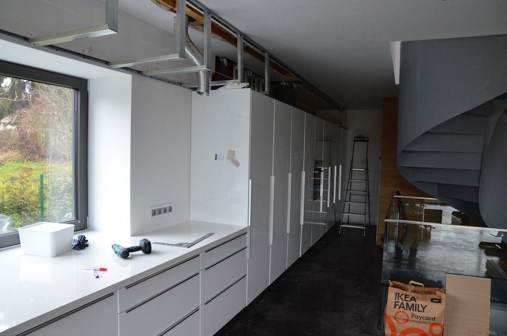 Znalezione obrazy dla zapytania abgehängte decke küche | remonty ...