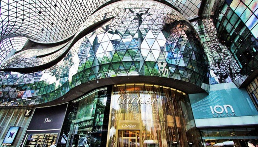 Discover Ion Orchard The best shopping mall in Singapore