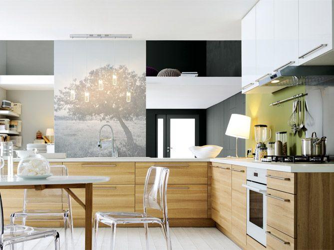 Cuisine Grafiti Cannelle FLY Cuisines Cuisine Pinterest - Fly plan de campagne pour idees de deco de cuisine