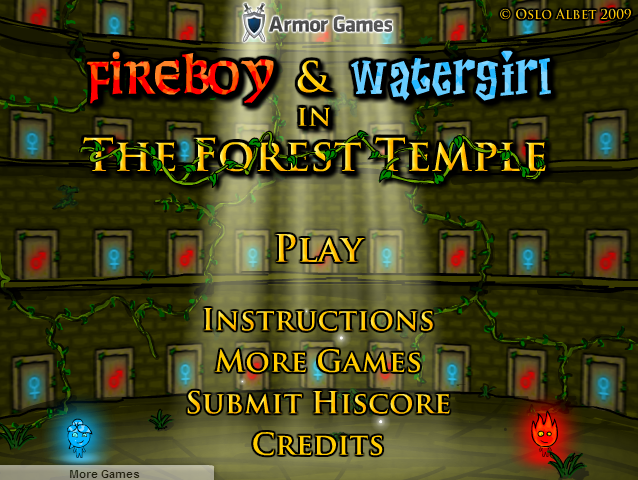 Fireboy and Watergirl, 2player, each requires 3 buttons