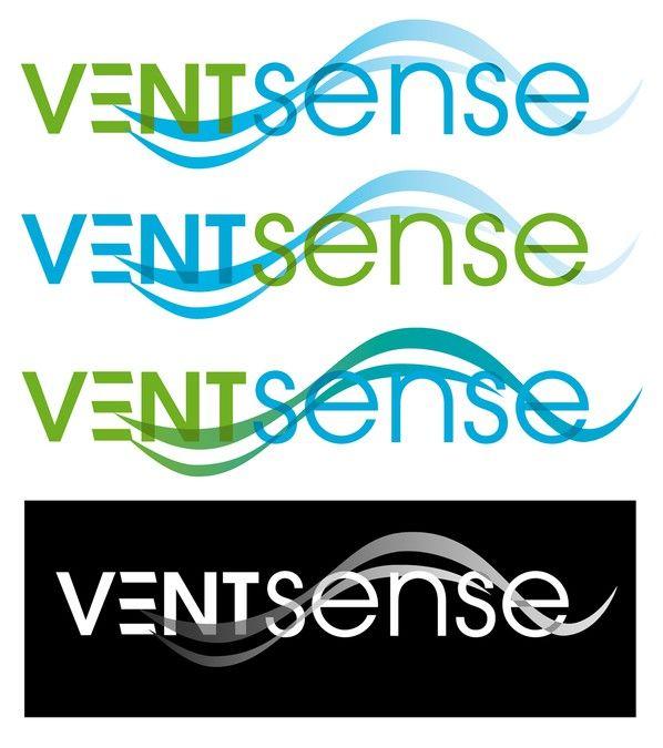 logo for VentSense by jordandes