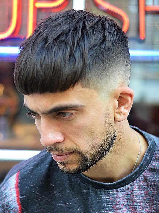 Textured Crop With Beard Hair Cut Pinterest Haircut Styles