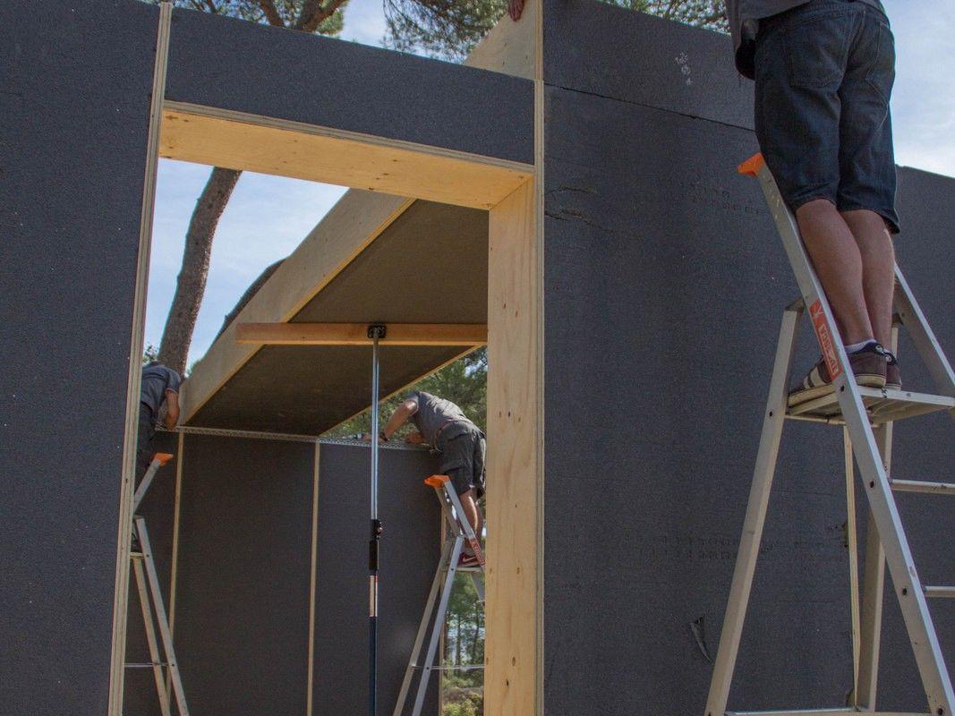 Construction Aix En Provence 130m² house in aix-en-provence - popup house   maison