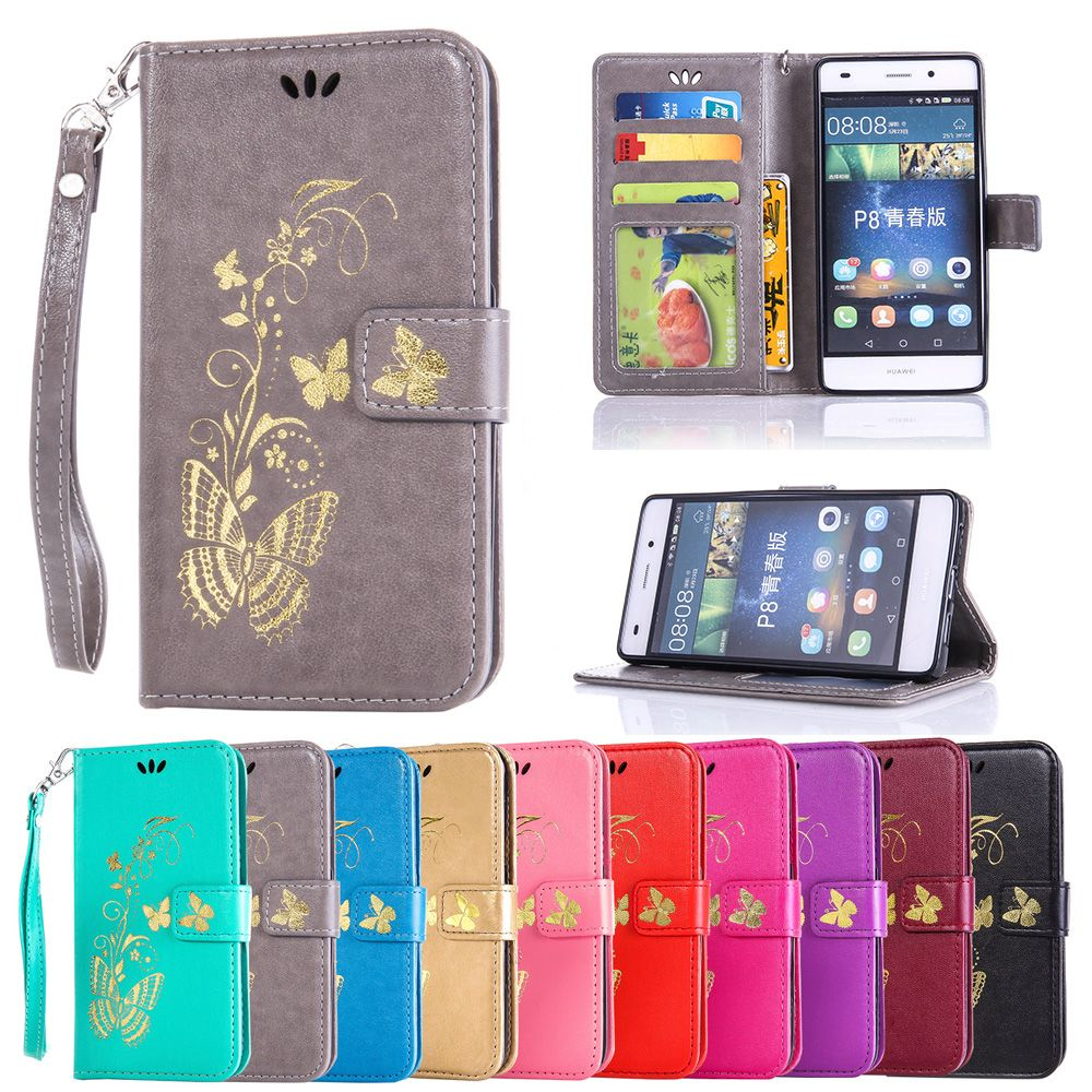 Flip Case For Huawei P8 Lite P 8 P8lite Phone Leather Cover Lenovo S60 Softcase Soft Jelly Ale L21 L23 L04 L02