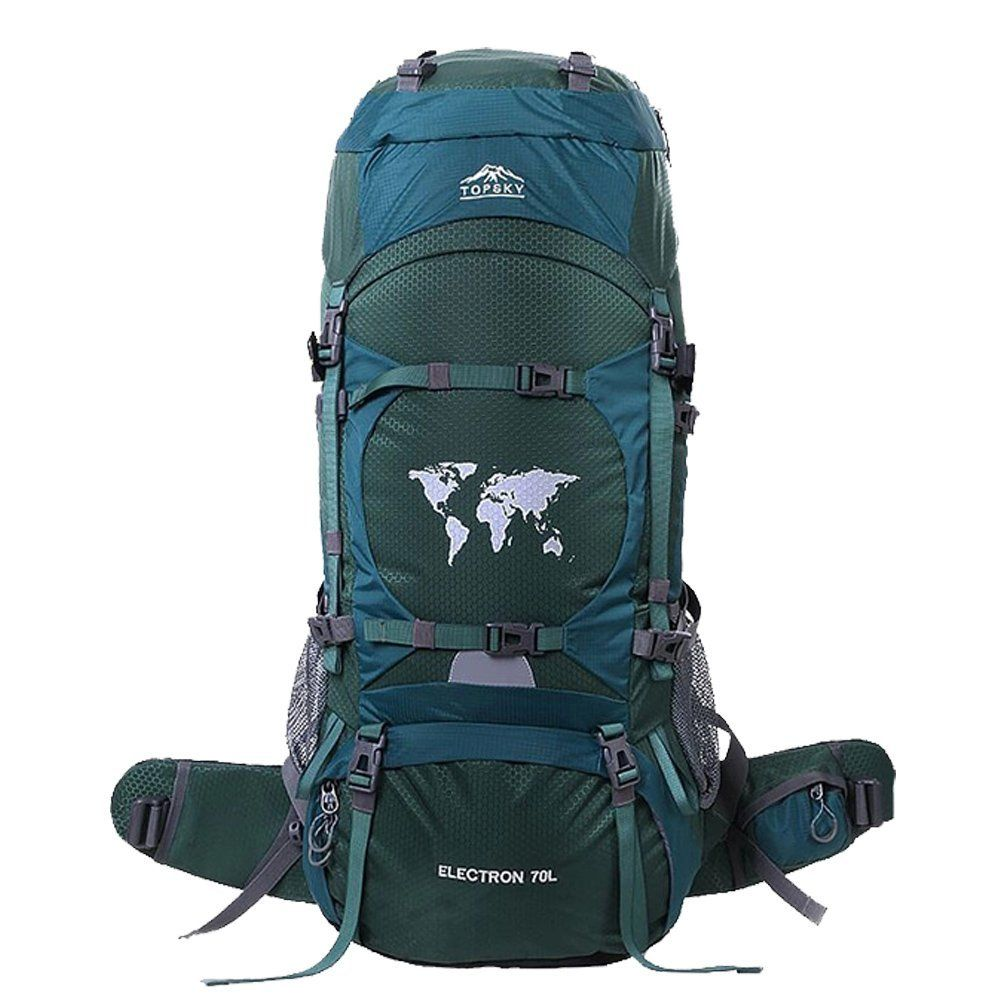 30048e08e911 Topsky 70L Outdoor Hiking Climbing Camping Backpack Professional ...