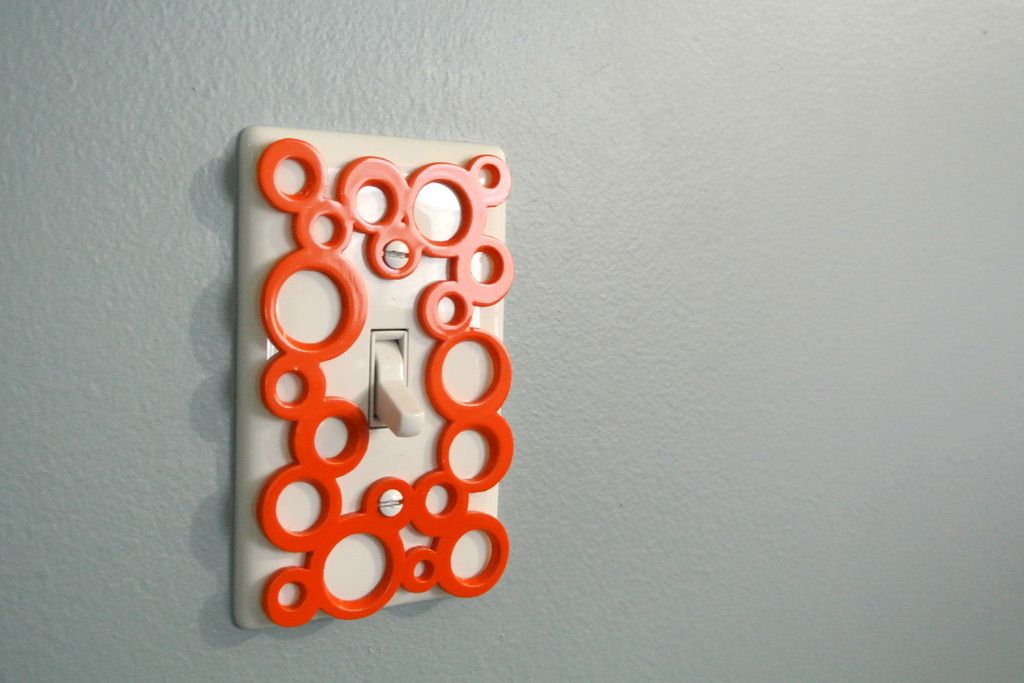 Decorative switch-plate by Tosh  http://thingiverse.com/thing:385951