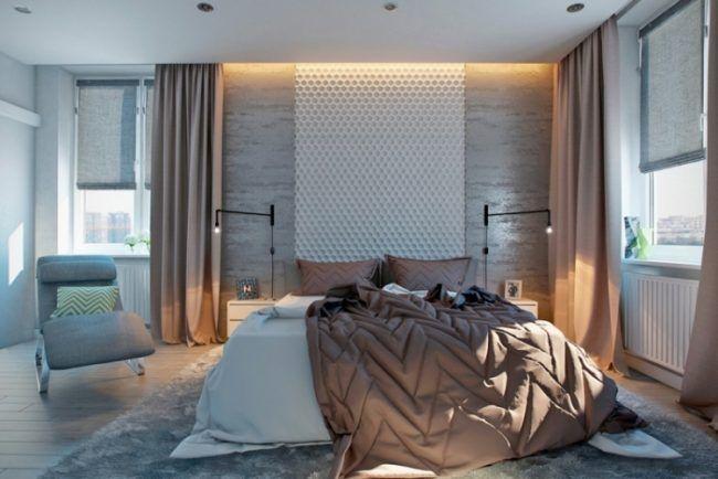 schlafzimmer-einrichten-inspirationen-beige-toene-indirekte ...